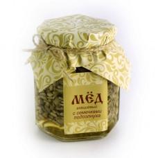 Акациевый мёд с семенами подсолнуха, 280 гр