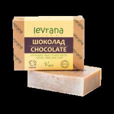 Натуральное мыло Шоколад levrana, 100 гр