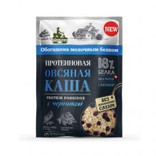 """Каша протеиновая """"Овсяная с черникой"""", 40 гр"""