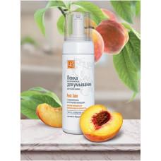 Пенка для умывания «Peach Juice» для сухой кожи с соком персика и экстрактом женьшеня, 160 гр