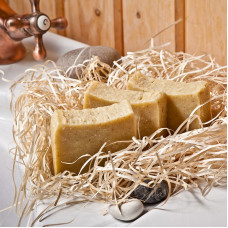 Натуральное мыло Таежное (отвар овса, петрушка, ягоды можжевельника), 120 гр