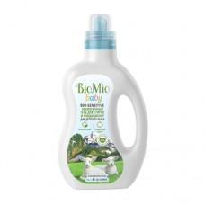 Экологичный гель и кондиционер для стирки детского белья BioMio, 1 л