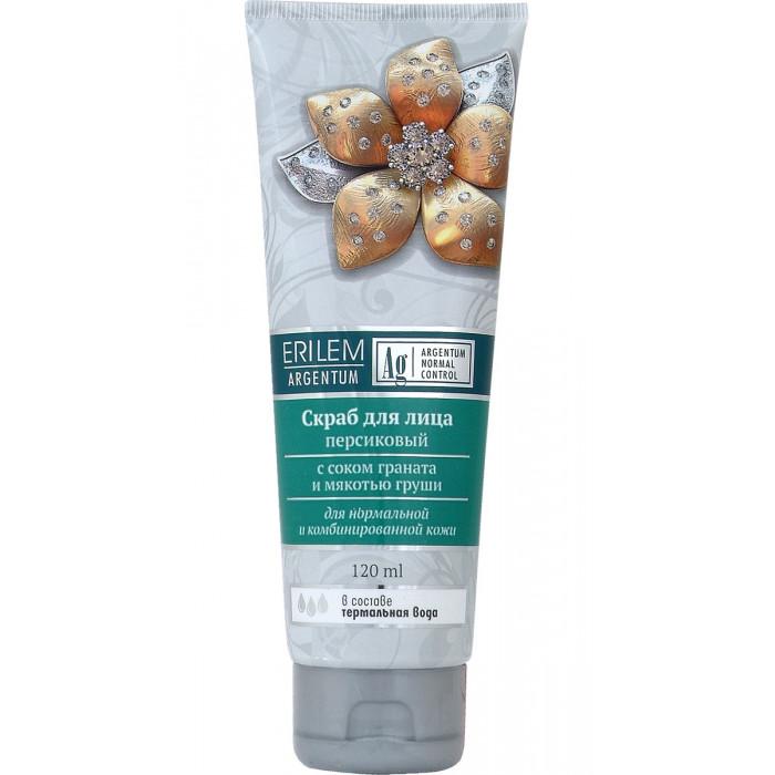 Скраб для лица персиковый с соком граната и мякотью груши, 120 мл