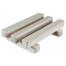 Мыльница-решетка деревянная