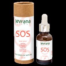 Сыворотка для лица SOS противовоспалительная, для проблемной кожи с акне, точечного действия, 30 мл