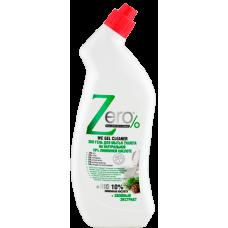 ZERO Гель для мытья туалета на натур.100% лимонной кислоте+хвойный экстракт, 750 мл