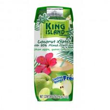 Кокосовая вода с фруктовым соком (яблоко, гуава, лайм) KING ISLAND, 250 мл