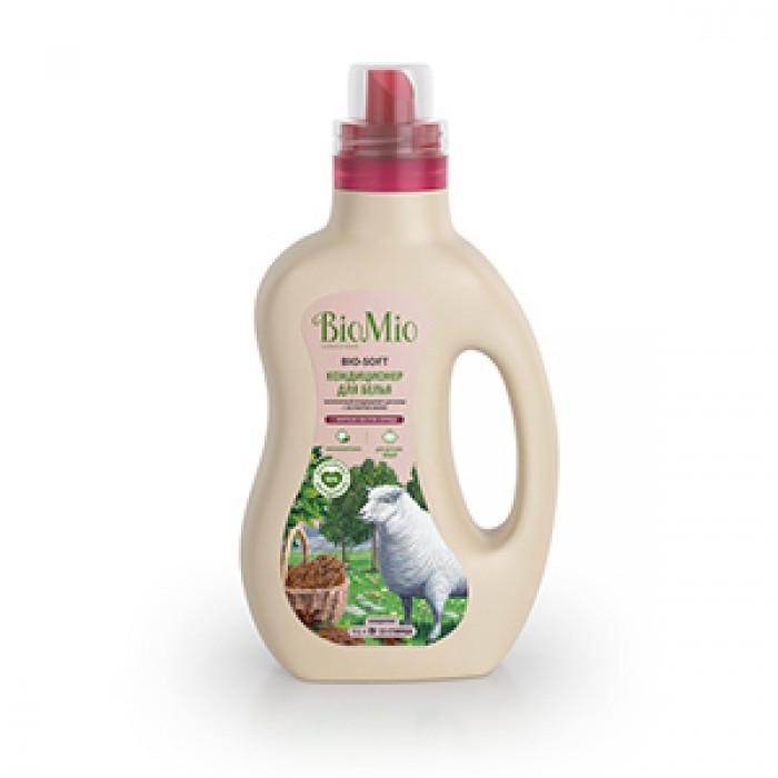 Экологичный кондиционер для белья с эфирным маслом корицы BioMio, 1 л