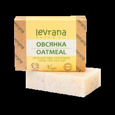 Натуральное мыло Овсянка levrana, 100 гр