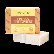 Натуральное мыло Гречка levrana, 100 гр